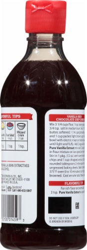 McCormick Pure Vanilla Extract Perspective: back