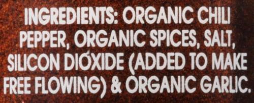 McCormick Gourmet Organic Chili Powder Shaker Perspective: back