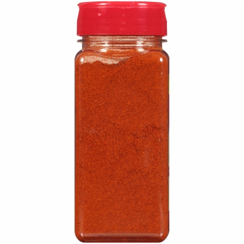 McCormic Ground Cayenne Red Pepper Seasoning Perspective: back