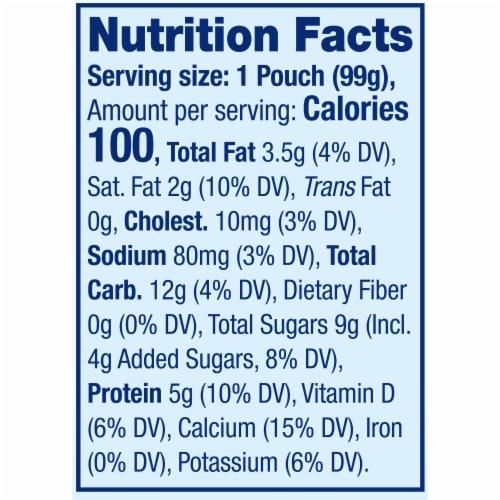 Stonyfield® Organic Strawberry Beet Berry Whole Milk Yogurt Perspective: back