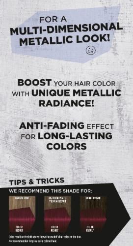 got2b Metallics Dark Ruby M68 Hair Color Perspective: back