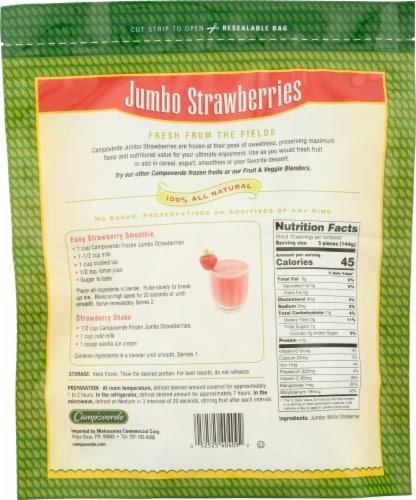 Campoverde Jumbo Strawberries Perspective: back