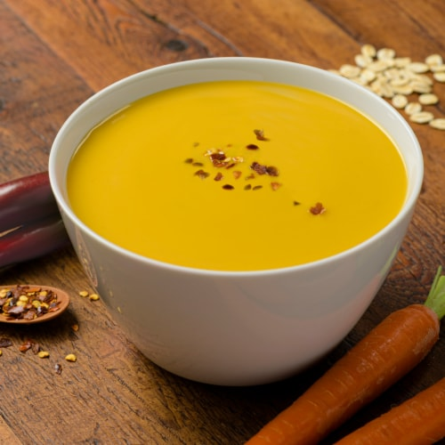 Pacific Foods Organic Oat Milk Cumin Carrot Soup Perspective: back