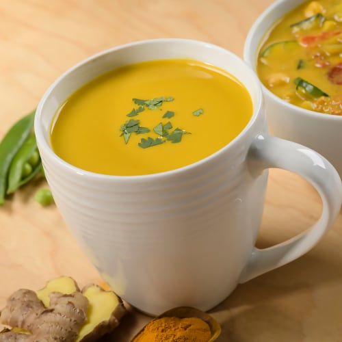 Pacific Foods® Organic Zesty Ginger & Turmeric Broth Perspective: back