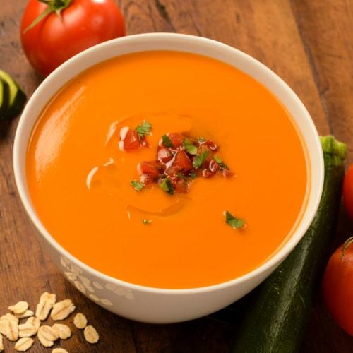 Pacific Foods Organic Creamy Tomato Soup Perspective: back