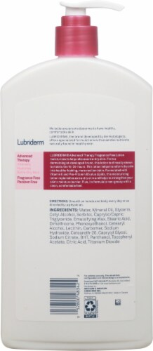 Lubriderm Advanced Therapy Lotion Perspective: back