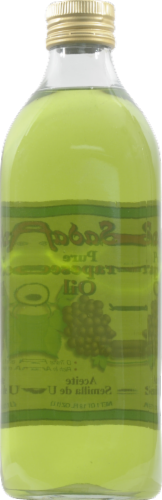 Sadaf Pure Grapeseed Oil Perspective: back