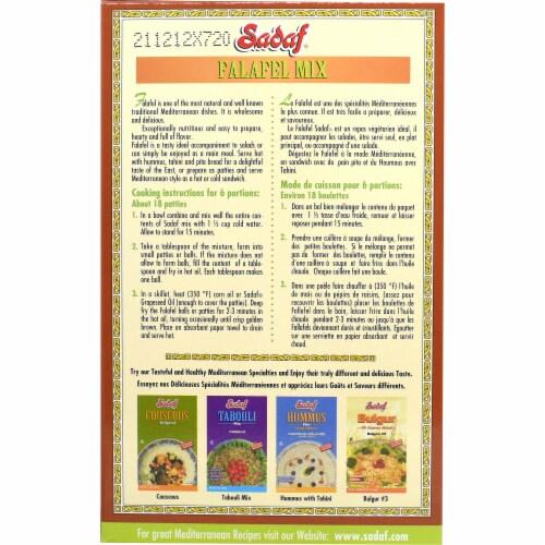 Sadaf Falafel Mix Perspective: back