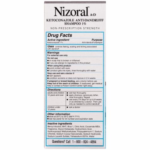 Nizoral A-D Anti-Dandruff Shampoo Perspective: back