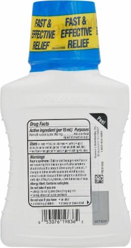 Kaopectate Vanilla Anti-Diarrheal Upset Stomach Relief Liquid Perspective: back