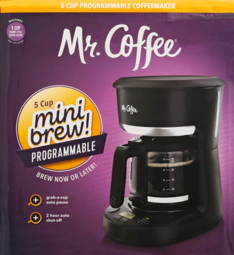 Mr. Coffee® Programmable Coffee Maker - Black Perspective: back