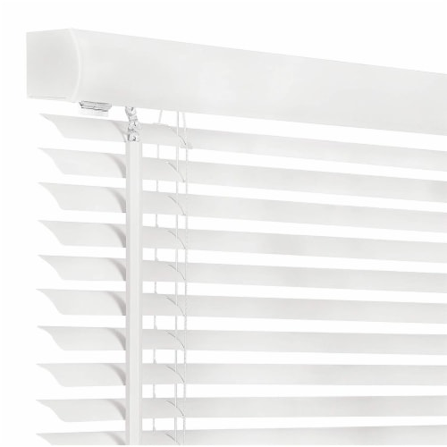 Achim GII Morningstar 29 x 72 Inch Cordless Vinyl Window Light Filtering Blinds Perspective: back