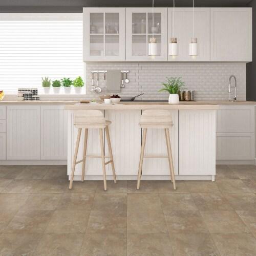 Achim Home Furnishings Nexus Peel & Stick Vinyl Floor Tile, Light Slate, 20Pk Perspective: back