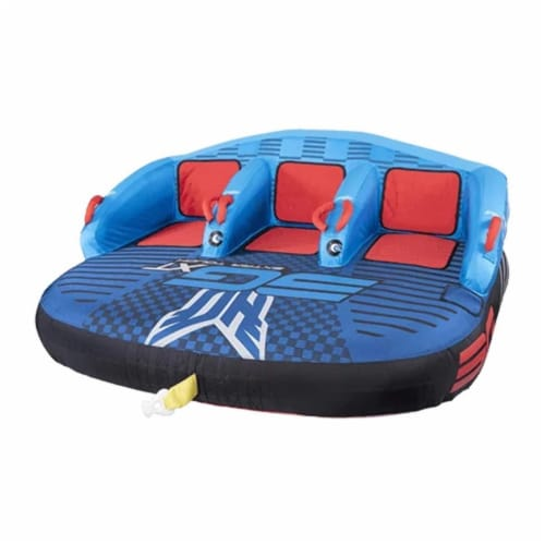 HO Sports 2020 3G XT Towable Watersports Boating Tube, 1 to 3 Person Capacity Perspective: back