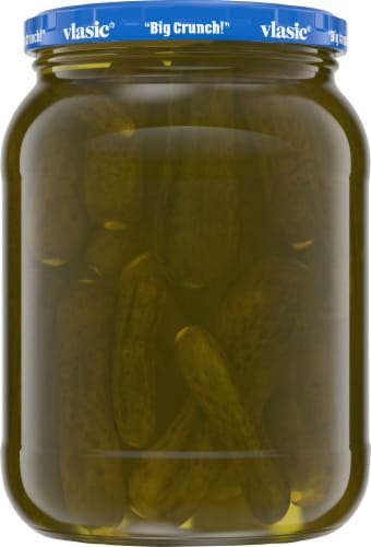 Vlasic® Kosher Dill Baby Whole Pickles Perspective: back