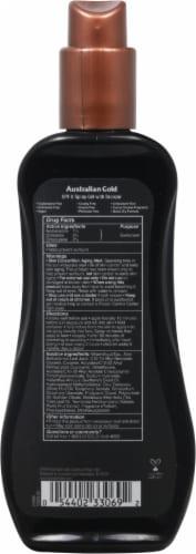 Australian Gold Instant Bronzer Spray Gel Sunscreen SPF 8 Perspective: back