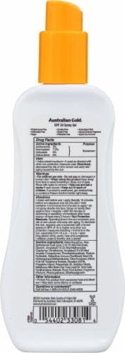 Australian Gold Ultimate Hydration Spray Gel Sunscreen SPF 30 Perspective: back