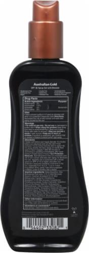 Australian Gold Instant Bronzer Spray Gel Sunscreen SPF 30 Perspective: back