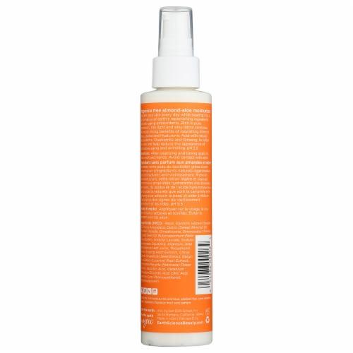 Earth Science Almond-Aloe Fragrance Free Moisturizer Perspective: back