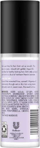 Love Beauty and Planet Smooth and Serene Argan Oil & Lavender Leave-in Smoothie Cream Perspective: back