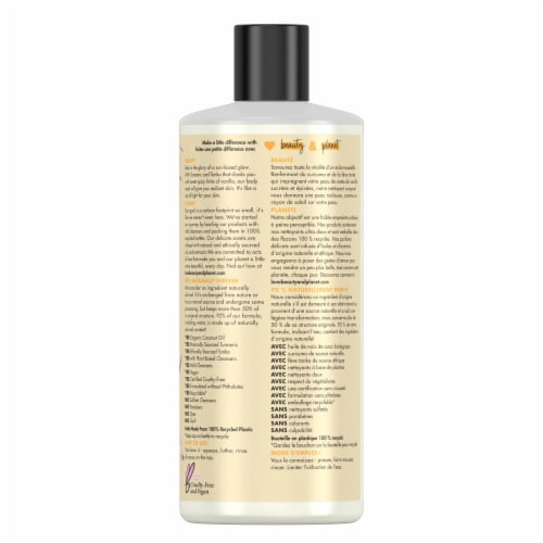 Love Beauty and Planet Turmeric & Tonka Essence Body Wash Perspective: back