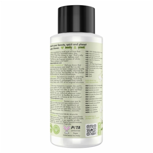 Love Beauty and Planet Divine Definition Coconut Milk & White Jasmine Conditioner Perspective: back