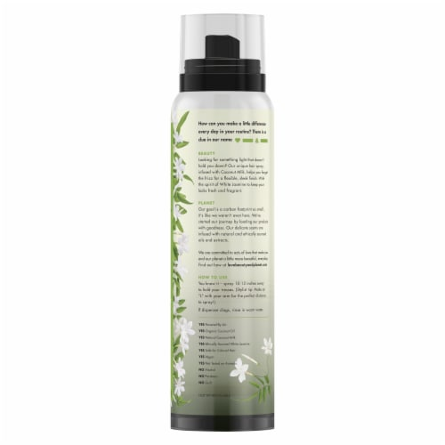 Love Beauty and Planet Coconut Milk & White Jasmine Hair Spray Perspective: back