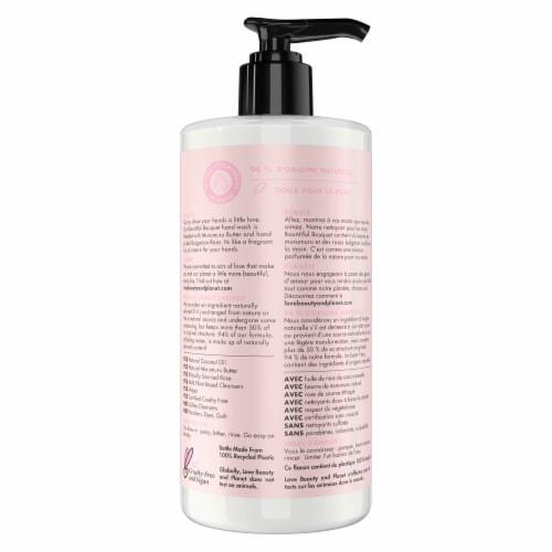 Love Beauty & Planet Bountiful Bouquet Murumuru Butter & Rose Hand Soap Perspective: back