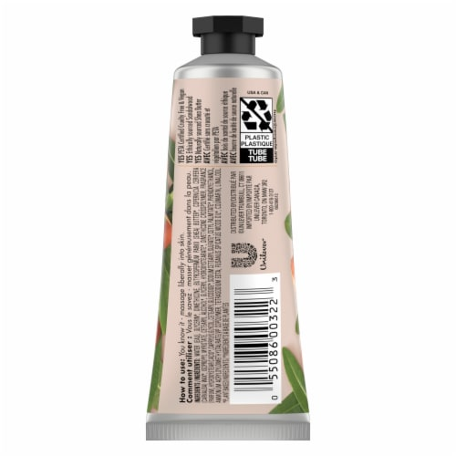 Love Beauty and Planet Hand Cream Shea & Sandalwood Perspective: back