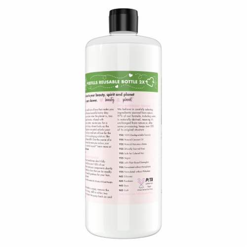 Love Beauty & Planet Silicone-Free Murumuru Butter & Rose Conditioner Perspective: back