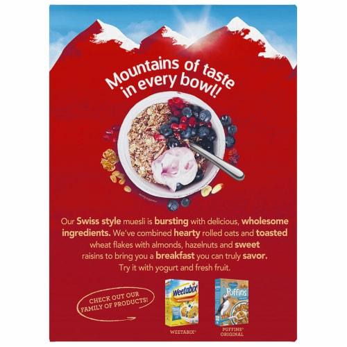 Alpen® Original Muesli Cereal Perspective: back