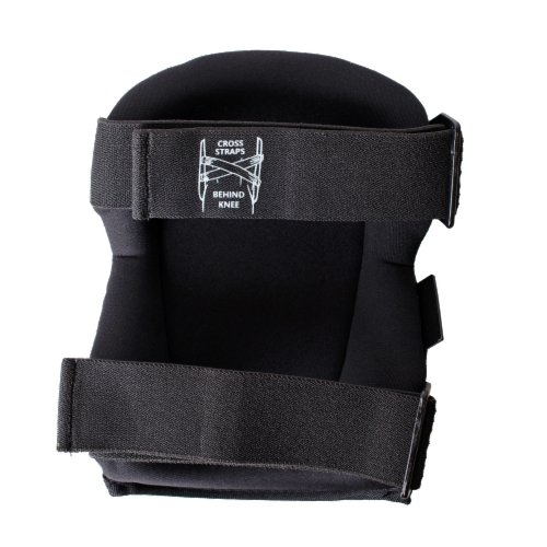 Tommyco T-Foam Cushion Cap Kneepads - Black Perspective: back