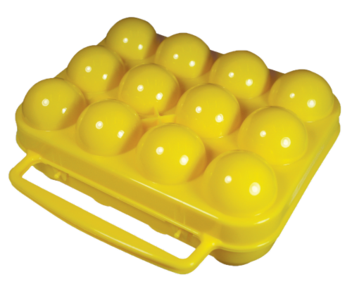 Coghlan's Egg Holder - Yellow Perspective: back