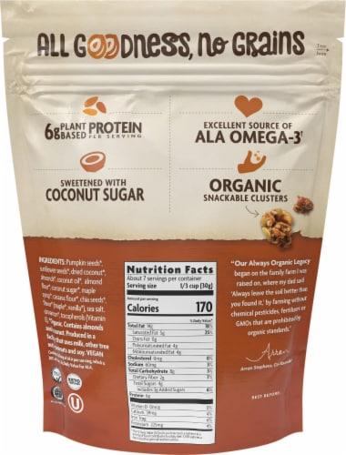 Nature's Path Organic Maple Almond Grain Free Granola Perspective: back
