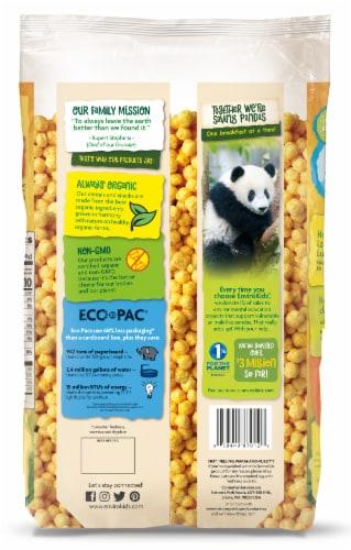 Nature's Path Organic EnviroKidz Peanut Butter Panda Puffs Cereal Family Size Perspective: back