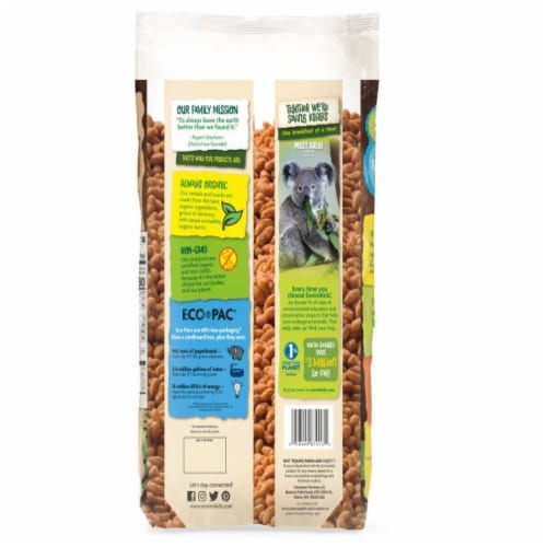 Nature's Path Organic EnviroKidz Chocolate Koala Crips Cereal Perspective: back