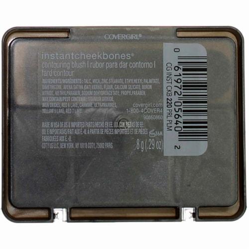 CoverGirl Instant Cheekbones Purely Plum Blush Perspective: back