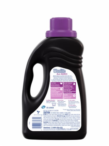 Woolite Midnight Breeze Scent Laundry Detergent Perspective: back