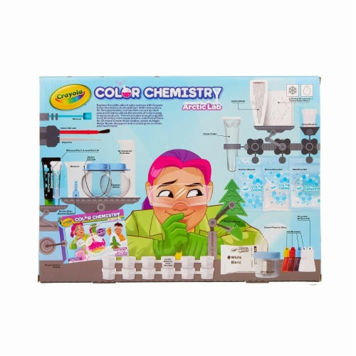 Crayola Arctic Color Chemistry Set for Kids Perspective: back