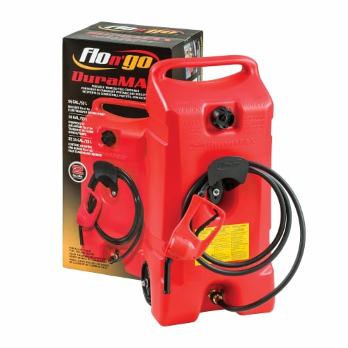 Flo N Go DuraMax Plastic Portable Fuel Container 14 gal. - Case Of: 1; Perspective: back