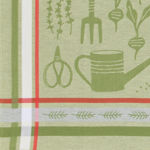 Now Designs Jacquard 100% Woven Cotton Kitchen Dish Towels Garden Set of 2 Perspective: back