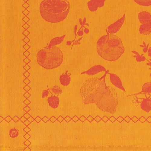 Now Designs Jacquard 100% Woven Cotton Kitchen Dish Towels Fruit Salad Set of 2 Perspective: back