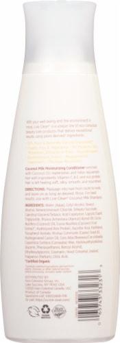 Live Clean Coconut Milk Moisturizing Conditioner Perspective: back