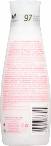 Live Clean® Super Fruit Waters Quenching Curls Conditioner Perspective: back