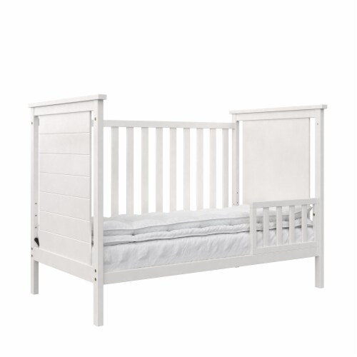 Baby Relax Amelia Toddler Guardrail, White Perspective: back