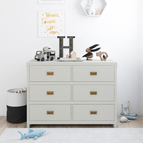Baby Relax Miles 6-Drawer Dresser Perspective: back