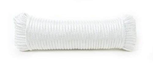 Mibro Kingcord Nylon Diamond Braid White Perspective: back