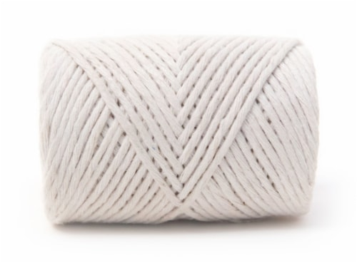 KingCord Cotton Twisted Twine - Natural Perspective: back