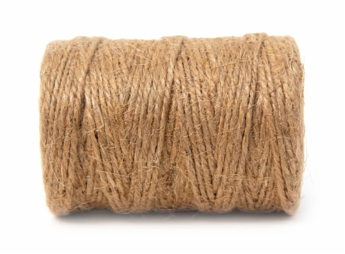 KingCord Heavy Duty Twisted Jute Twine - Natural Perspective: back