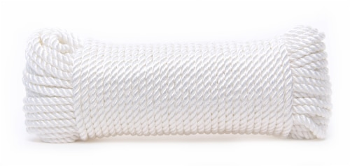Mibro Kingcord Polyester Twisted White Perspective: back
